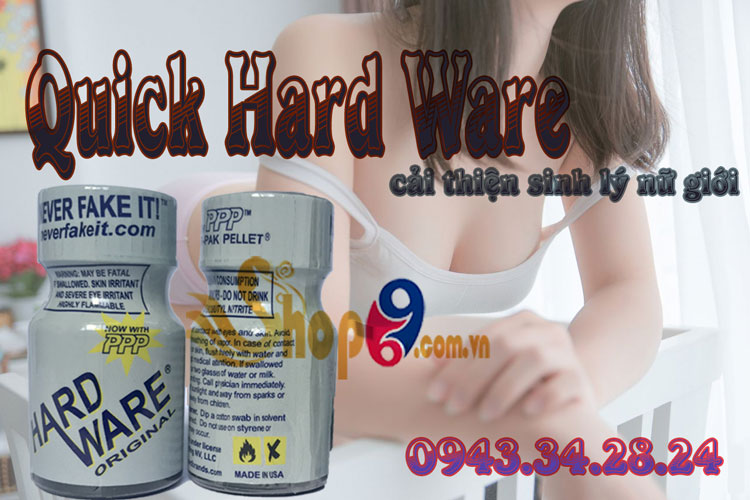 Nước hoa tình yêu Quick Hard Ware tăng khoái cảm tình dục nữ siêu mạnh