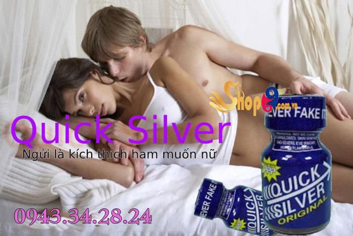 Nước hoa tình yêu Quick Silver tăng khoái cảm tình ái nam và nữ
