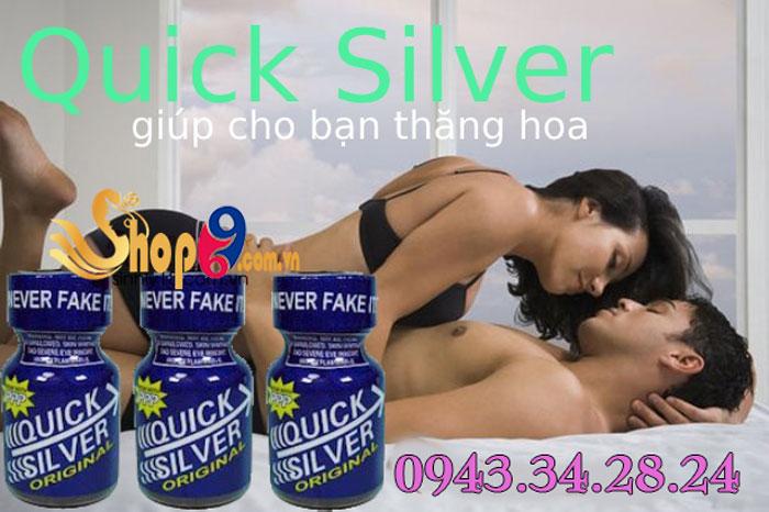 Thông tin nước hoa tình yêu Quick Silver