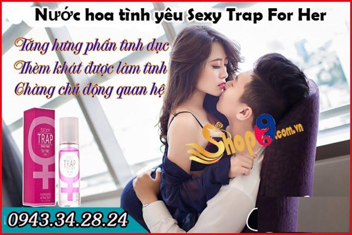 Công dụng của nước hoa tình yêu Sexy Trap For Her