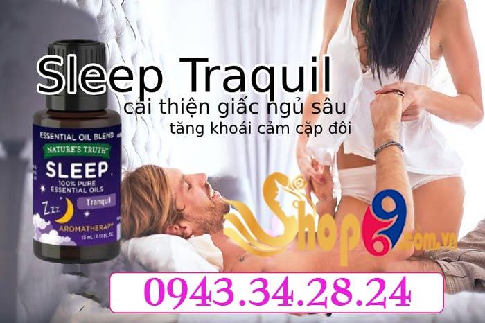 Đặc tính của sản phẩm Sleep Traquil USA
