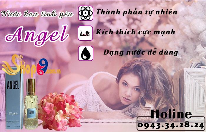 Nước hoa tình yêu Angel kích thích ái tình cực mạnh