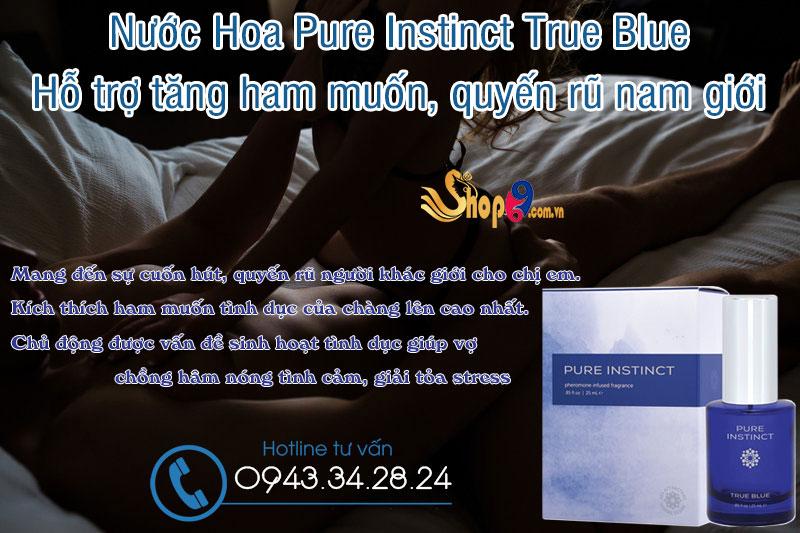 Công dụng Nước Hoa Pure True Blue