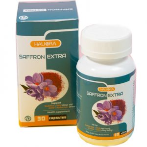 Viên uống dưỡng tâm an thần Hauora Saffron Extra Giúp Giấc Ngủ Ngon Hơn