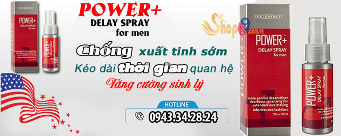Power+ Delay Spray for Men-2