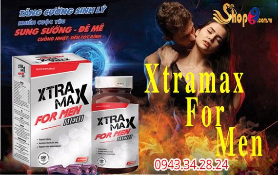 Xtramax For Men tăng cường sinh lực nam giới