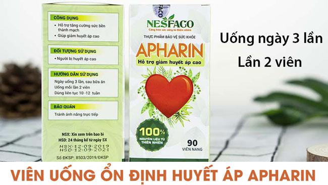 Hướng dẫn sử dụng Apharin