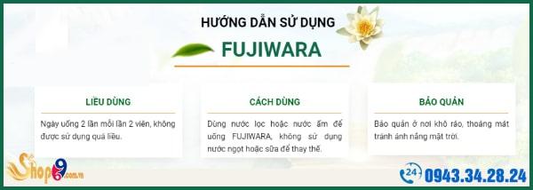 hướng dẫn sử dụng fujiwara