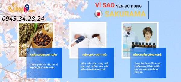Vì sao nên sử dụng Sakurama để cải thiện mất ngủ?