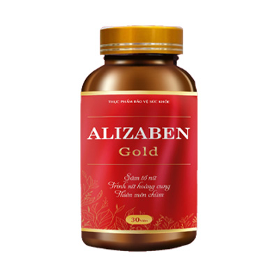 Sản phẩm cân bằng nội tiết tố nữ Alizaben Gold