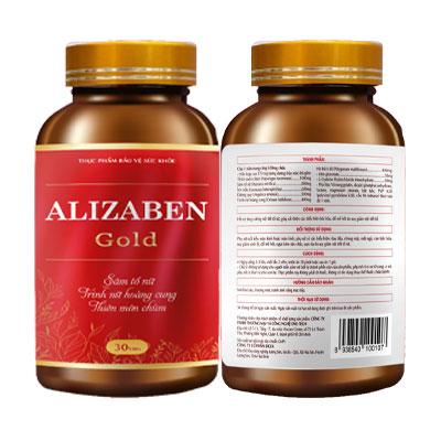 Viên uống giúp cải thiện nội tiết tố Alizaben Gold