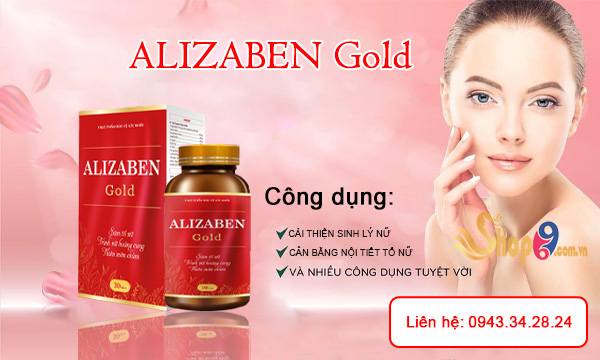 Công dụng Alizaben Gold